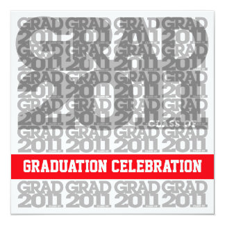 Class Of 2011 Graduation Party Invitation 03A