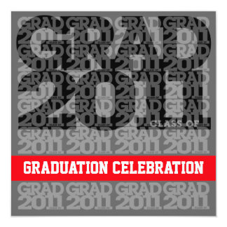 Class Of 2011 Graduation Party Invitation 03FF