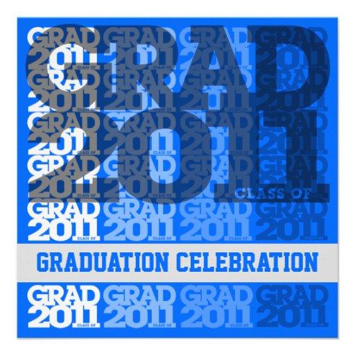 Class Of 2011 Graduation Party Invitation 03GG