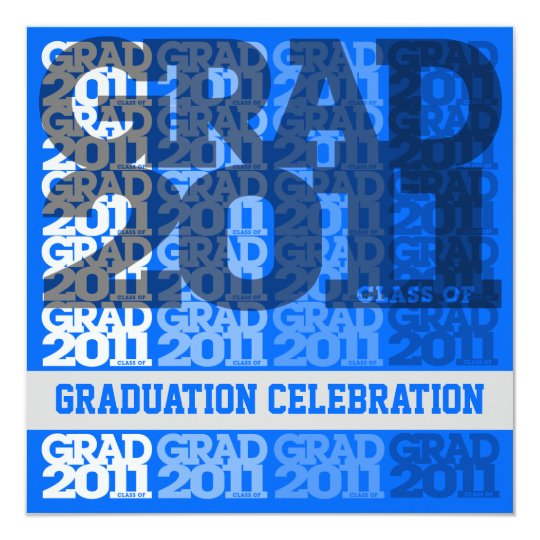 Class Of 2011 Graduation Party Invitation 03GG