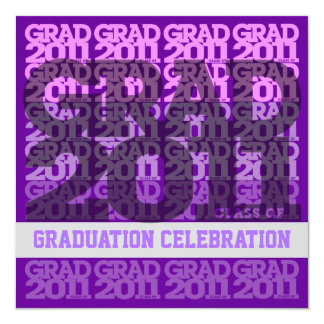 Class Of 2011 Graduation Party Invitation 03HH