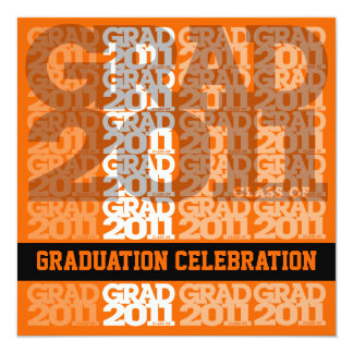 Class Of 2011 Graduation Party Invitation 03JJ