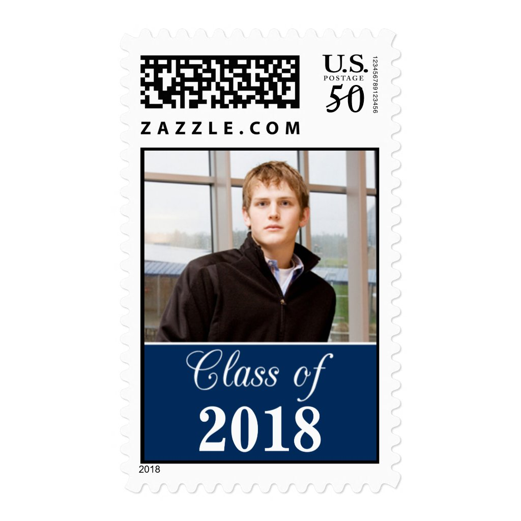 Class of 2018 Graduation Photo Stamps