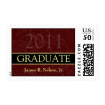 Class of 2011 Graduation Postage Stamp