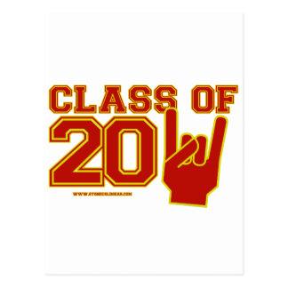 Class of 2011 graduation postcard
