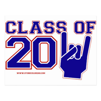 Class of 2011 Graduation red,white and blue Postcard