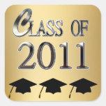 Class Of 2011 Graduation Stickers