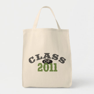 Class Of 2011 Green Tote Bag