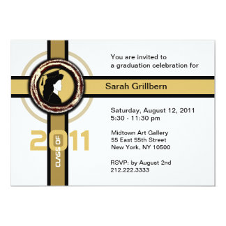 Class of 2011 Invitation Medal 3 Gold