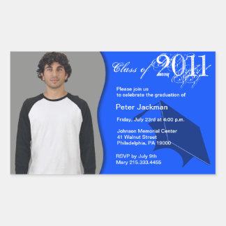 Class of 2011 Invitation Sticker add photo 4
