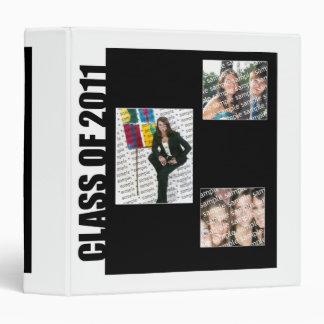 Class of 2011 Memory Book 3 Ring Binders