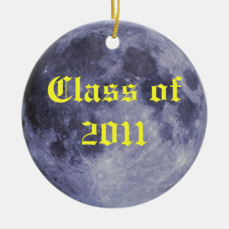 Class of 2011 Moon Ceramic Ornament