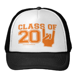 Class Of 2011 Orange and White Trucker Hats