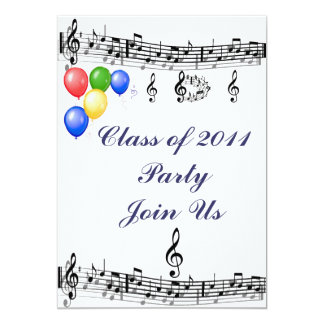 Class of 2011 Party_ Card