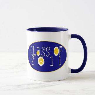 Class of 2011 peace mug