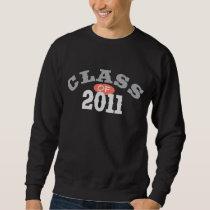 Class Of 2011 Peach Sweatshirt