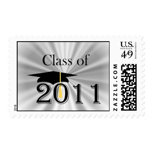 Class of 2011 postage stamps