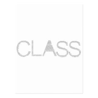 Class of [2011] postcard