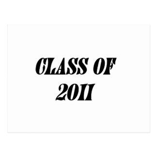 Class Of 2011 Postcard