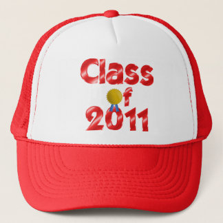 Class of 2011 Red Adjustable Hat