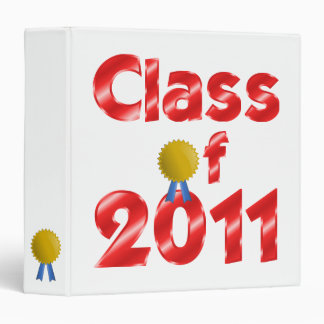 Class of 2011 Red Binder