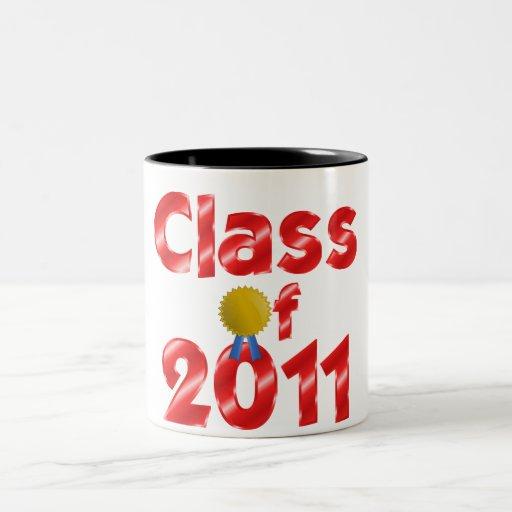 Class of 2011 Red Coffee Mug