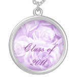 Class of 2011_ round pendant necklace