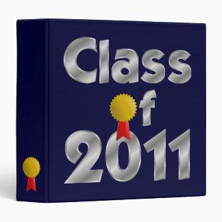 Class of 2011 Silver Binder
