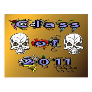 Class of 2011 - Skulls Postcard