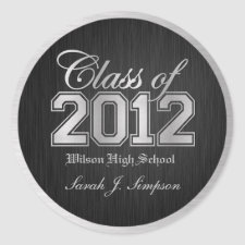 Class of 2011 Stickers sticker