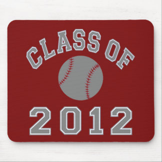 Class Of 2012 Baseball - Grey Mouse Pad