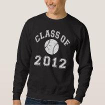 Class Of 2012 Baseball - White 2 Sweatshirt