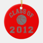 Class Of 2012 Basketball - Grey 2 Ornaments