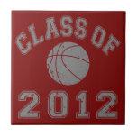 Class Of 2012 Basketball - Grey 2 Tile