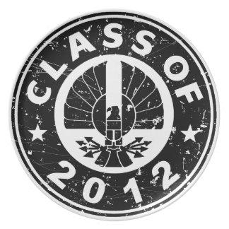 Class Of 2012 Black Hawk Dinner Plate
