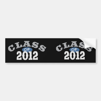 Class Of 2012 Blue Bumper Sticker