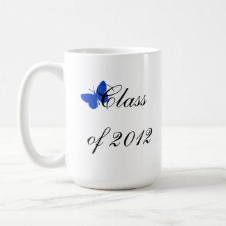 Class of 2012 - Blue Butterfly Coffee Mug
