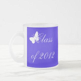 Class of 2012 - Blue Butterfly Mugs