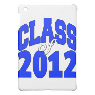 Class of 2012 blue iPad mini case