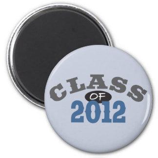 Class Of 2012 Blue Fridge Magnet