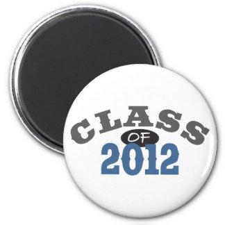 Class Of 2012 Blue Refrigerator Magnets