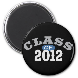 Class Of 2012 Blue Refrigerator Magnet