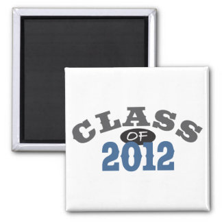 Class Of 2012 Blue Magnets