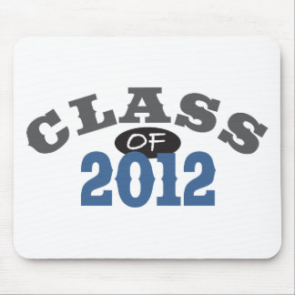 Class Of 2012 Blue Mouse Pad