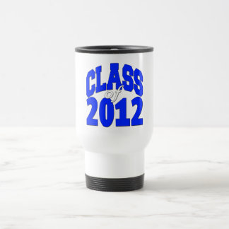 Class of 2012 blue mug