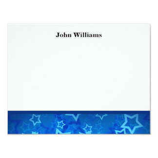 Class of 2012 Blue Stars Graduation Thank You Card