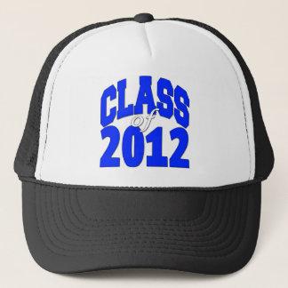 Class of 2012 blue trucker hat