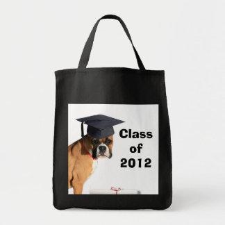 Class of 2012 Boxer Gradutate tote bag