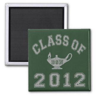 Class Of 2012 BSN - Grey Magnet
