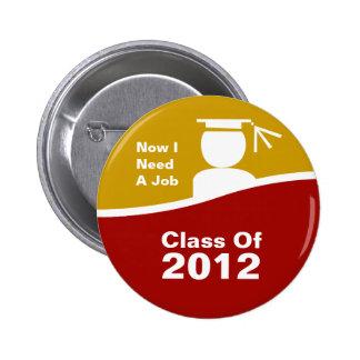 Class Of 2012 Buttons